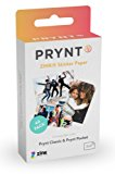 Prynt, 2x3 inch ZINK Sticker Paper for The Prynt Pocket and Prynt Classic Instant Photo Printer - 40 pack (PP00005)
