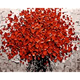 LOSTART Diy Oil Painting,Paint by Number Kit for Adult 16 by 20-Inch (The tree of life)