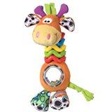 Playgro 0181561107 My First Bead Buddies Giraffe for baby infant toddler children