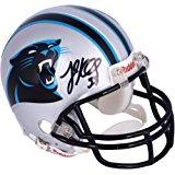 Luke Kuechly Carolina Panthers Autographed Riddell Mini Helmet - Fanatics Authentic Certified - Autographed NFL Mini Helmets
