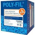 Fairfield AC923 White Poly-Fil Premium Polyester Fiber