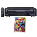 Teac 5-Disc Carousel CD Player with Remote (12-PD-D2610MK2) with Trisonic Laser Lens Cleaner for DVD/CD Players