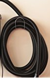 Update Your Metro Vac Car Dryer With A 30 Foot Commercial Grade Replacement Hose! Includes Hose Hangar & Wall Bracket For Dryer - Fits MB-3CD