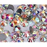 Jollin Glue Fix Crystal AB FlatBack Rhinestones Size Mixed SS12~SS20(864pcs)