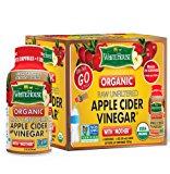 (6pk bottles/2oz each) White House Organic Apple Cider Vinegar ON-THE-GO