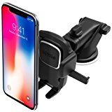 Easy One Touch 4 Dashboard & Windsheild Car Mount Holder for iPhone X 8/8s 7 7 Plus 6s Plus 6s 6 SE Samsung Galaxy S8 Plus S8 Edge S7 S6 Note 8 5