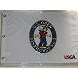 2014 U.S. Open Pinehurst golf pin flag embroidered logo usga
