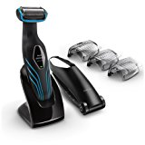 Philips Norelco Bodygroom Series 3100, Shave and trim with back attachment, BG2034