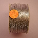 Silver Metallic Cord, 1mm X 144Yd