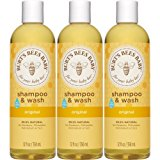 Burt's Bees Baby Shampoo & Wash, Original, 12 Ounces (Pack of 3)