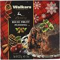 Walkers Shortbread Rich Fruit Pudding, 8 Ounce, 6 Count