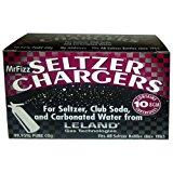 300 Leland Mr Fizz 8 Gram CO2 Soda Siphon Seltzer Chargers