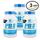 Nutrition Now - PB 8 Probiotic Acidophilus - 120 Capsules (3-Pack)
