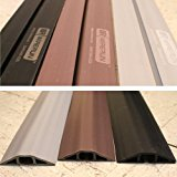 Rubber Duct Cable Cord Cover Brown 5ft by WireRun