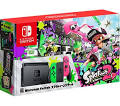 Nintendo Switch with Neon Green and Neon Pink Joy-Con Splatoon 2 ...