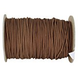 SGT KNOTS Polyester Lift Cord / Mini Blind / Roman Shade Made in USA – Several Colors & Sizes (1.8 mm x 100 yards - Chocolate)