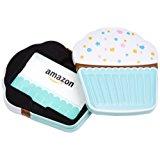 Amazon.com Gift Card in a Birthday Cupcake Tin (Birthday Cupcake Card Design)