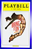 Bring It On The Musical, Broadway playbill + Neil Haskell, Taylor Louderman, Jason Gotay