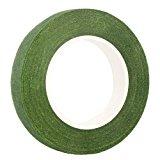 "DECORA 1/2"" Wide Dark Green Floral Tapes for Bouquet Stem Wrap Florist"