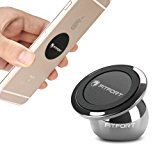 Universal Magnetic Phone Holder, FITFORT 360°Rotation Magnetic Car Mount Holder for Cell Phone GPS Tablet iPhone X 8 7 6s 6 Plus Galaxy S8,S7,S6 Edge,Note 8, 5, 4