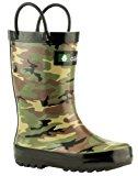 Oakiwear Kids Rubber Rain Boots | Classic Yellow, Green & Navy, Bright Blue & Red, Red & Navy, Sky Blue & Purple, Two-Tone Purple