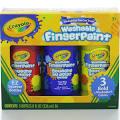Crayola Fingerpaint, Washable, Bold Colors, 3+ - 3 pack, 8 fl oz ...