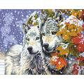 PAINTWORKS Paint by Number Kit 11 x 14 in. Early Snowfall