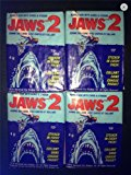 1978 Topps Jaws Wax Pack Lot (4) Unopened Packs Trading Cards Non-sport
