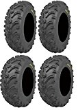 Full set of Kenda Bear Claw (6ply) 26x9-12 and 26x11-12 ATV Tires (4)