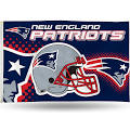 SparoWatch NFL Banner Flag NFL Team: New England Patriots
