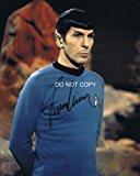 Leonard Nimoy As Spock Reprint Signed Autographed Photo #4 Rp Star Trek
