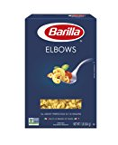 Barilla Pasta, Elbows, 16 Ounce (Pack of 8)