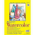 """Strathmore 140 lbs. Cold Pressed Watercolor Tape Paper Pad, 9"""" x 12"""""""