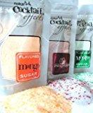 rokz Summer Drink Rimmers -Sugars in Mojito, Pomegranate & Mango, 3 pk