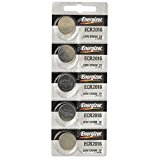 Energizer CR2016 Lithium Battery 3V, 5 Pack