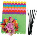 Colorations Tissue Paper Flowers - Set of 24