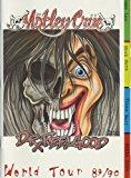 Motley Crue 1989-90 Dr. Feelgood Tour Concert Program Programme
