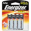 Energizer E91MP8 Max Alkaline Batteries AA 8 Batteries/Pack ...