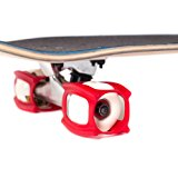 SkaterTrainer, Get Skateboarding Tricks Fast with this Skate Tool for your Complete Skateboard, an Innovative Accessory for your Wheels, Red