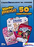 2017 Topps Wacky Packages 50th Anniversary EXCLUSIVE Factory Sealed Value Box with Special BONUS PACK of (5) Best of the '80's Stickers! Look for Autograph, Plates, Sketch & Parallel Cards! Wowzzer!