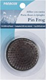 Panacea Pin Round Frog, 2-Inch, Brass, 1-Pack