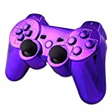 Mod Freakz Shell/button Kit Chrome Collection Purple (NOT A CONTROLLER, For PS3 Controllers)