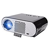 Ohderii Projector, Christmas Projector 3200ANSI Luminous Efficiency Multimedia Home Theater Projectors 1280 800 Native Resolution Support 1080P HD-ideal for Outdoor Indoor Movie Night