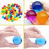 AINOLWAY Large Water Gel Beads 100Pcs, Growing Water Balls Jelly Crystal For Kids Tactile Toy and Vase Filler
