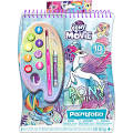 My Little Pony Princess Watercolor Paintfolio Kit, Multicolor