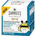 Zarbees Naturals baby Chest Rub, Soothing, with Eucalyptus ...