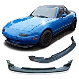 NEW - 90-97 Mazda Miata MX5 GV Style Front PU Bumper Add on Lip