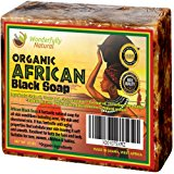 Wonderfully Natural Organic African Black Soap, 16 oz