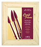 MCS 8x10 Inch Unfinished Pine Craft Frame (58101)