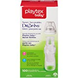 Playtex Baby Nurser Drop-Ins Baby Bottle Disposable Liners, Closer to Breastfeeding, 8 Ounce - 100 Count